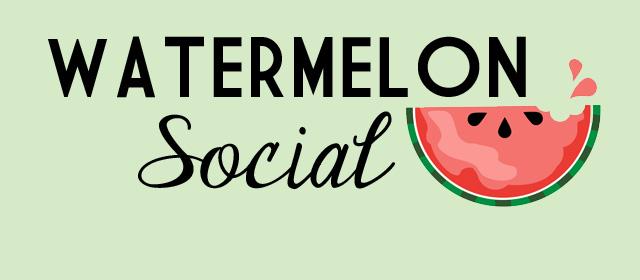 watermelon social slider